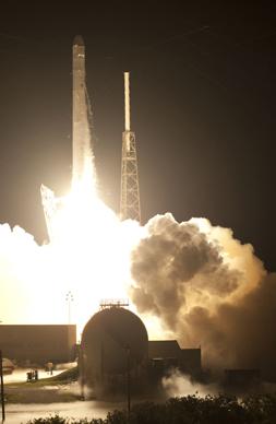 Falcon 9 Launch May 22, 2012